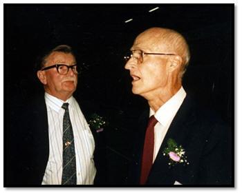 Ted Blake & George Nissen - mid-1980's