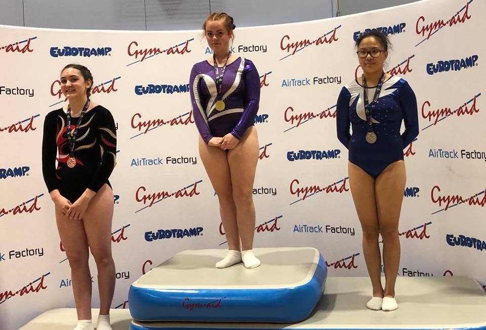 Jenifer 2nd place League 3 in Eastleigh