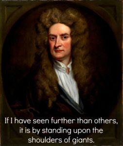 Portrait of Sit Isaac Newton