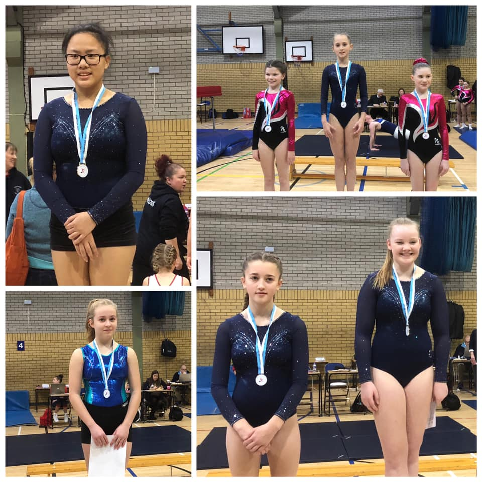 Some of our medallists from February 2019 NDP