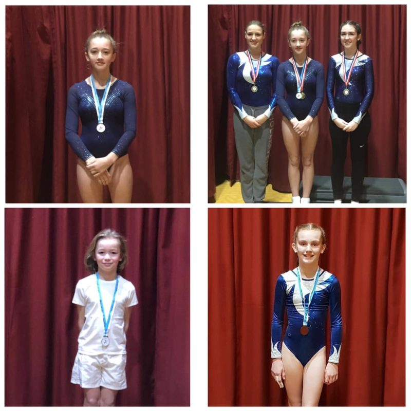 Some medallists from Colchester 27th January 2019